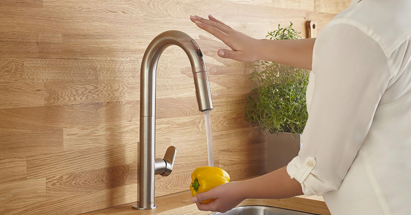 Touchless Kitchen Faucets