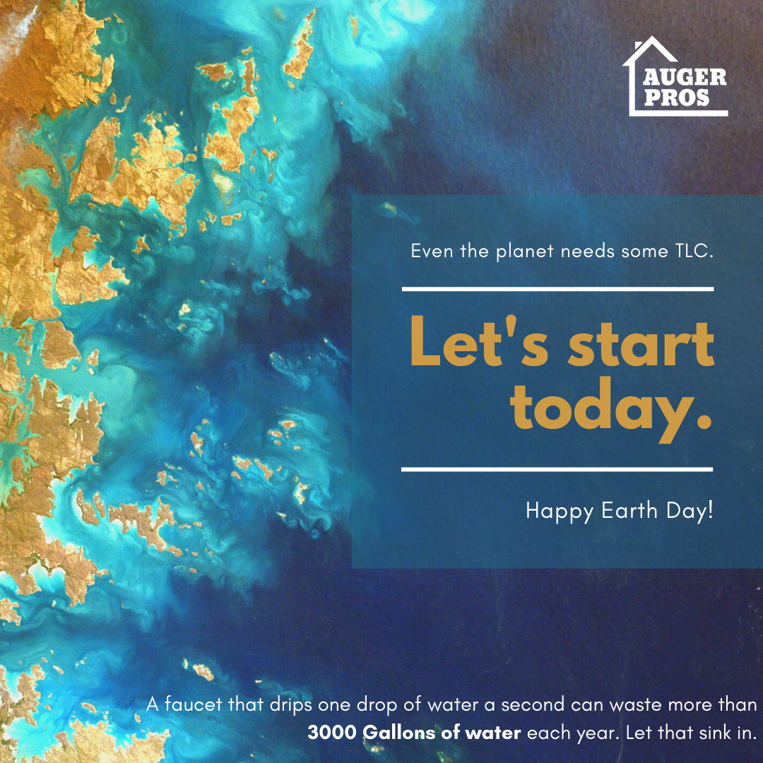 Plumbing Tips For Earth Day