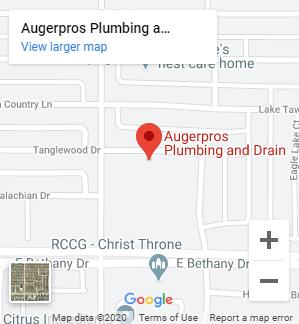 AugerPros Plumbing Map