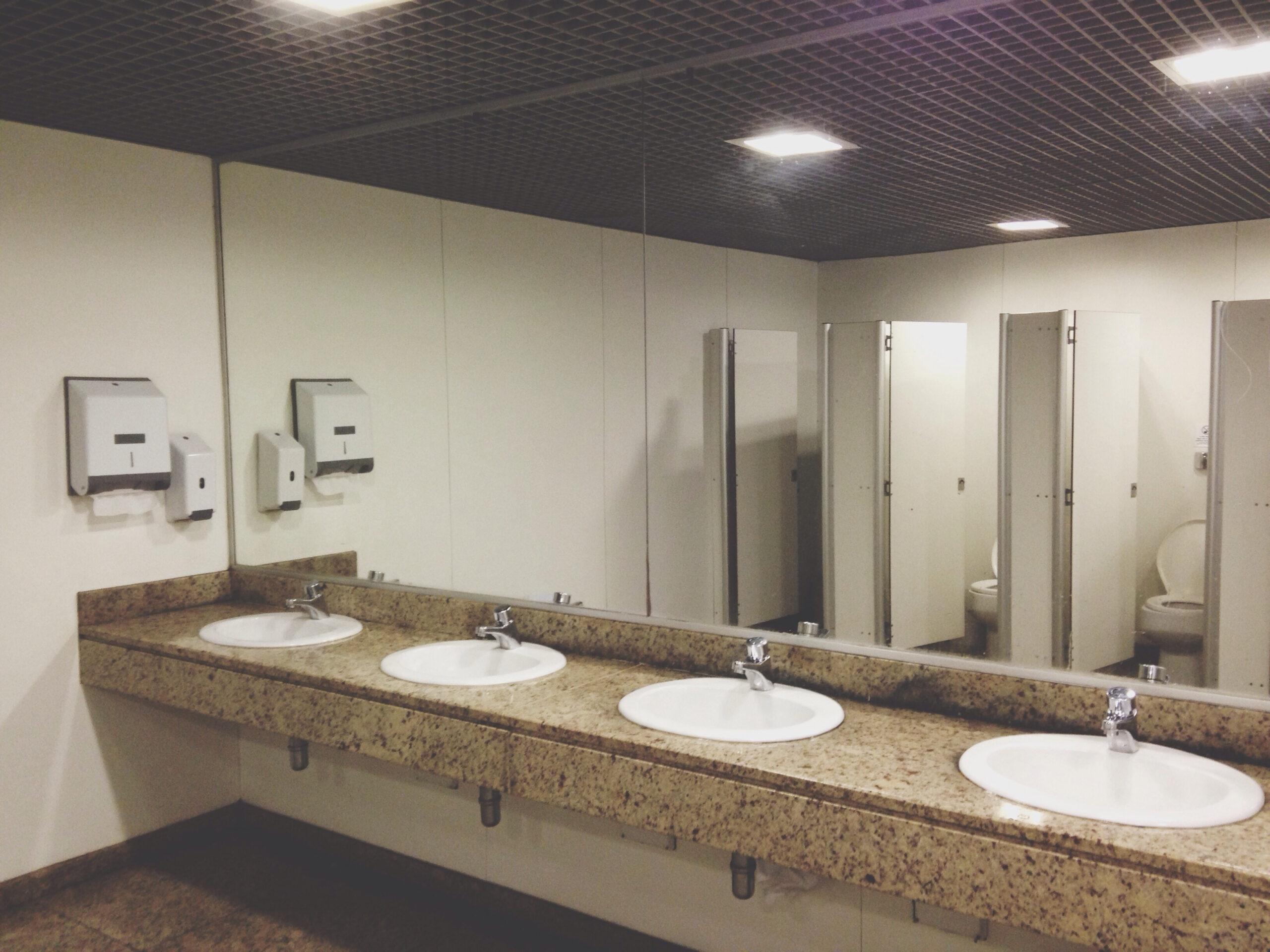 Commercial Bathroom Clog